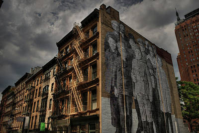 Poster featuring the photograph Nyc - Tribeca 001 by Lance Vaughn