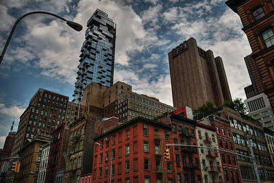 Poster featuring the photograph Nyc - Tribeca 002 by Lance Vaughn