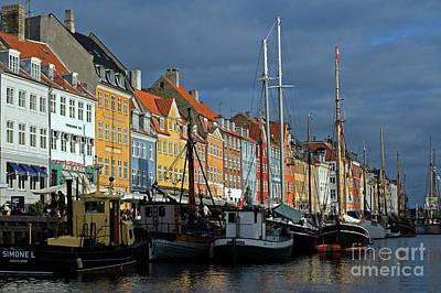 Nyhavn Copenhagen Denmark Poster