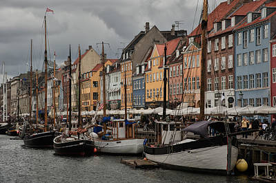 Nyhavn Poster by Wade Aiken