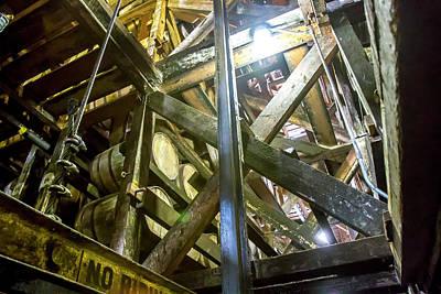 Oak Barrels Aging Inside The Rik House  Poster