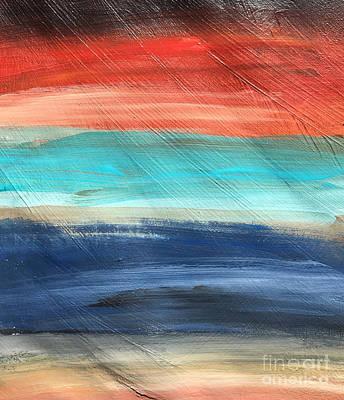 Oak Creek #27 Southwest Landscape Original Fine Art Acrylic On Canvas Poster