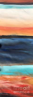 Oak Creek #31 Southwest Landscape Original Fine Art Acrylic On Canvas Poster