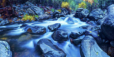Poster featuring the photograph Oak Creek Flow by ABeautifulSky Photography