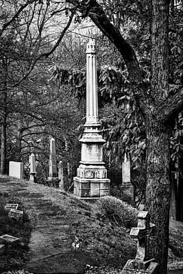 Oak Hill Cemetery Path Poster
