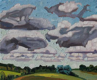 Oak Ridges Cumulus Poster by Phil Chadwick