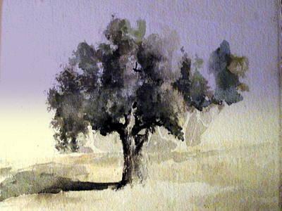 Oak Tree Poster