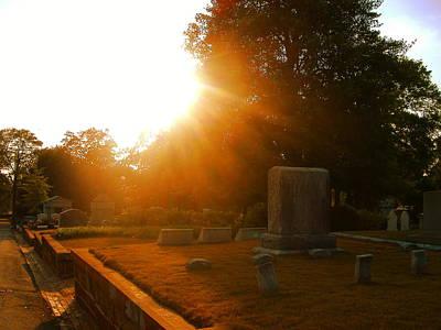 Oakland Cemetery In Atlanta Poster