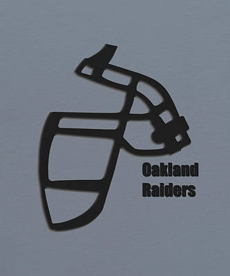 Oakland Raiders Retro Poster