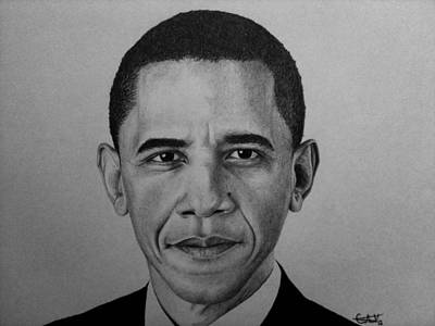 Obama Poster by Carlos Velasquez Art