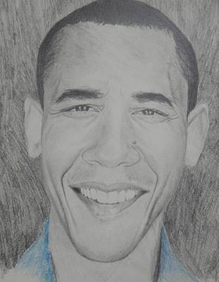 Obama Gq Poster by Kevin  Williams