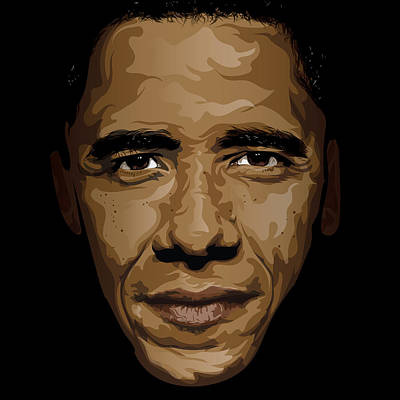 Obama Poster by Lawrence Carmichael