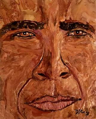 Obama Spirit Of A Lion Poster by Deborah Stanley