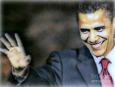 Obama Poster by Wbk