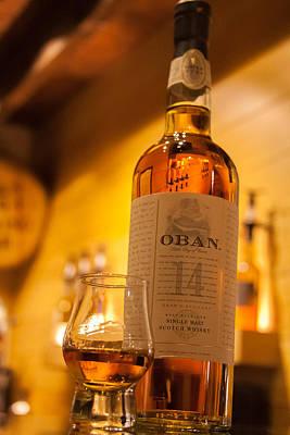Oban Whisky Poster