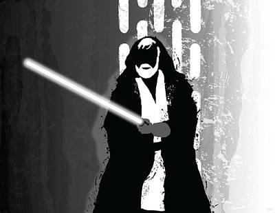 Obi-wan Kenobi Poster by Nathan Shegrud