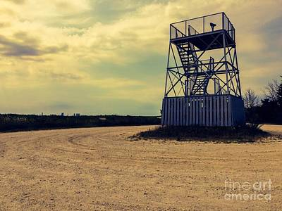 Observation Tower Poster by Tom Gari Gallery-Three-Photography