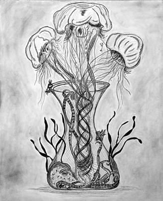 Ocean Bouquet Poster by Joe Quinn