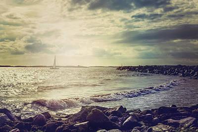 Ocean Poster by Cindy Grundsten