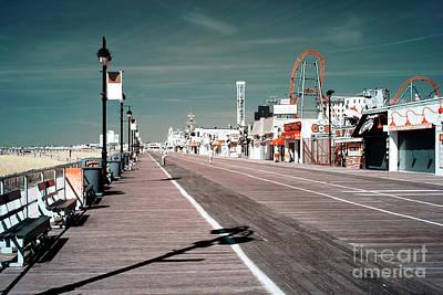 Ocean City Boardwalk Blues Poster