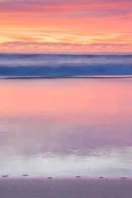 Ocean Glow Poster