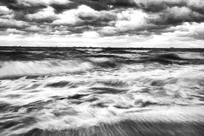 Ocean In Flux II Poster by Jon Glaser