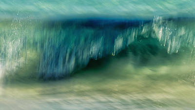Ocean Motion Poster by Stelios Kleanthous