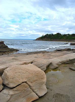 Ocean Rocks - Nova Scotia Poster