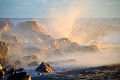 Ocean Spray - Cape Cod Bay Poster by Dianne Cowen