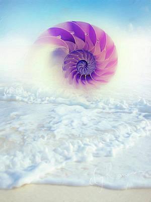 Ocean To Infinity Poster by Georgiana Romanovna