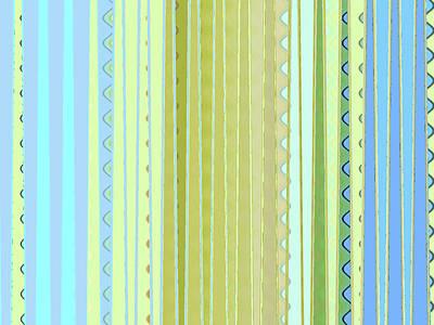 Oceana Stripes Poster