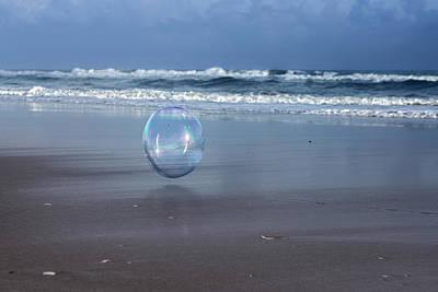 Oceanic Sphere  Poster by Betsy Knapp