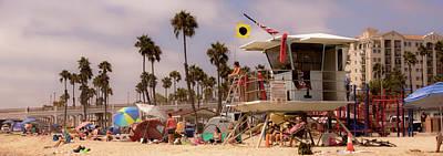 Oceanside Beach Poster