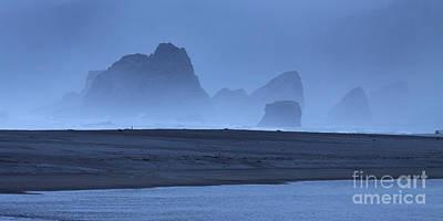 Oceanside Hoodoos Along The Oregon Coast Poster by Max Allen