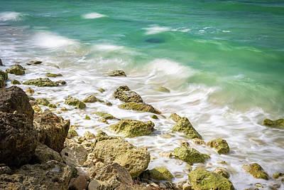 Oceanside In Trelawny, Jamaica Poster