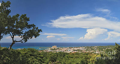 Ocho Rios From Ysassis Lookout Point Poster by Charles Kozierok