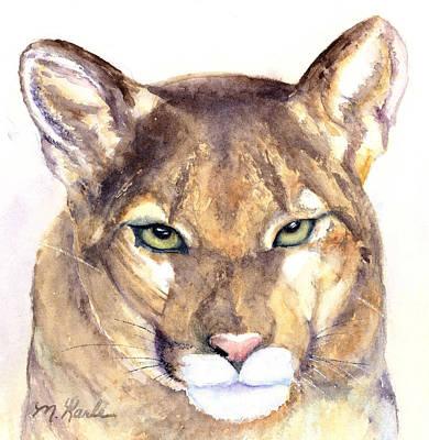 October Lion Poster