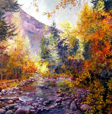 October River Poster