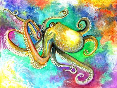 Octocat Poster by Barbi  Holzmann