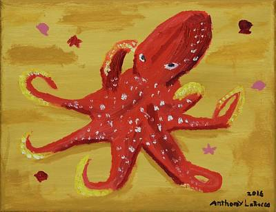 Octopus Poster by Anthony LaRocca