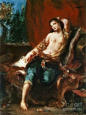 Odalisque 1857 Poster by Padre Art