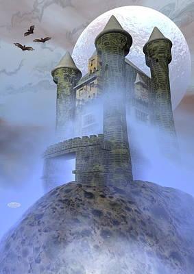Odd Castle - 3d Render Poster