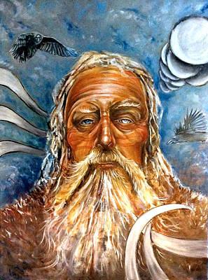 Odin Poster by Ole Hedeager Mejlvang