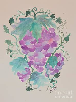 Of The Vine Poster by Maria Urso