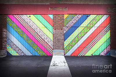 Off The Wall - Double Poster by Colleen Kammerer