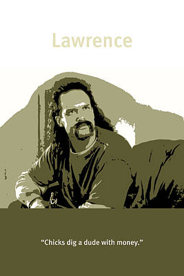 Office Space Lawrence Diedrich Bader Movie Quote Poster Series 006 Poster