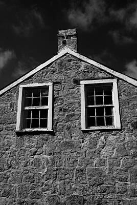 Officers Quarters, Monochrome Poster by Travis Burgess