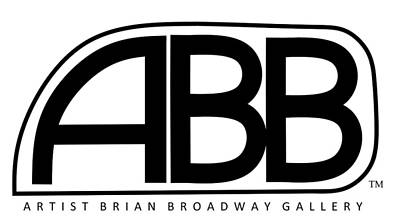 Official Abb Gallery Logo Poster by Brian Broadway
