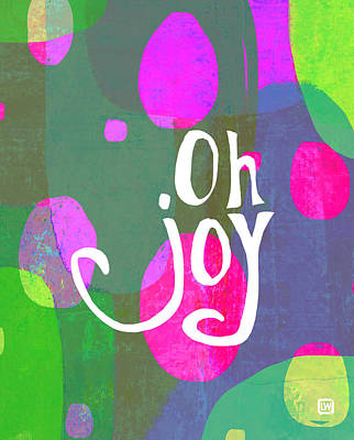 Oh Joy Poster by Lisa Weedn