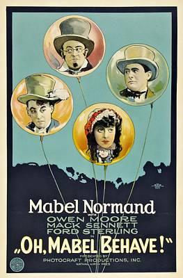 Oh Mabel Behave 1922 Poster